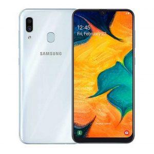 Samsung A30 White